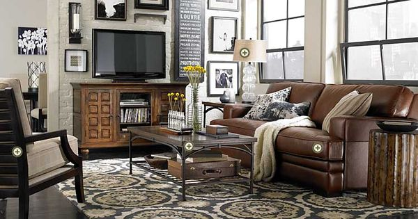 Bassett furniture tools love the configuration of for Furniture configurations for small spaces