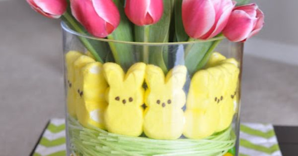 #Easter Display Arrangment Such a great Easter idea!!!!!