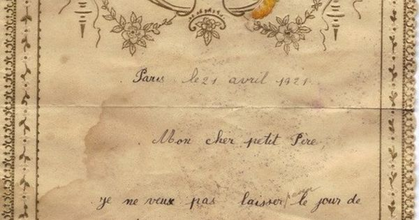 French Love Letter Marriage 1800s Ahhhhh I Think Ive
