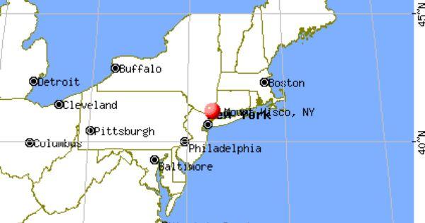 Mount Kisco New York Google Search Map Of New York Woodstock