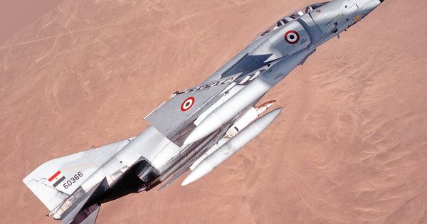 F-4 PHANTOM II EGYPT McDonnell Douglas F-4E Egyptian AirForce Sticker Decal