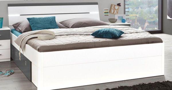 Stauraumbett Inklusive 2 Schubkasten In 2019 Stauraumbett Schlafzimmermobel Und Bett