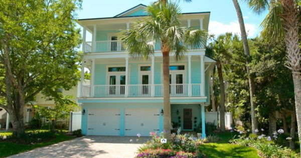 Key west style houses design pictures remodel decor and for Tropical exterior house colors