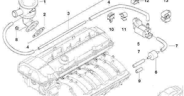 2003 bmw 3.0 engine vacuum diagram - Google Search | Auto parts catalog, Bmw  x5, Diagram | 2008 Bmw X5 Engine Diagram |  | Pinterest