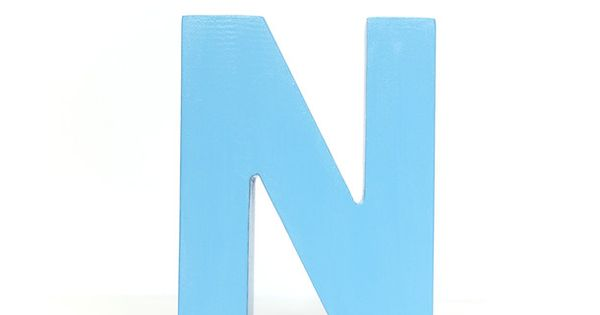 Letter N Turquoise | Kiddos & Cute Things | Pinterest ...