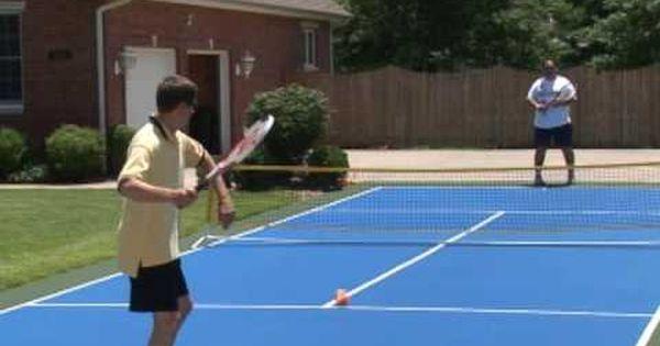 Mini Tennis Court Quick Start Court By Versacourt Tennis Court Size Http Sports Onwired Biz Tennis Mini Tenn Tennis Court Size Sport Court Tennis Court