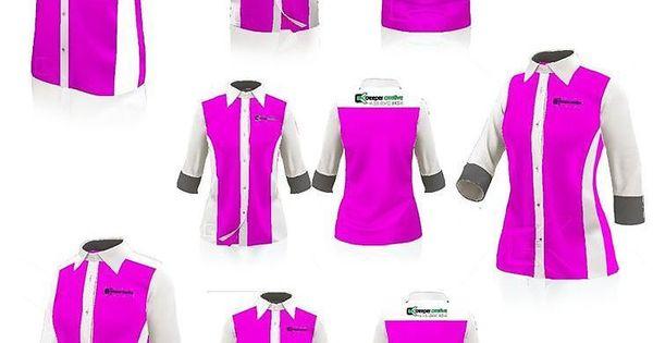 10cb3e6a8 Baju Korporat F1 Shirt on Creeper Design   Uniform