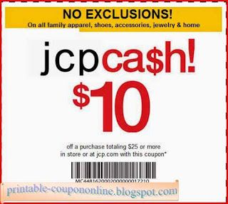 Free Printable Jcpenney Coupons Jcpenney Coupons Printable Coupons Coupons
