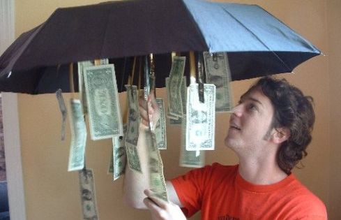 Cute Graduation Or Birthday Gift Idea...Get an inexpensive umbrella from the dollar