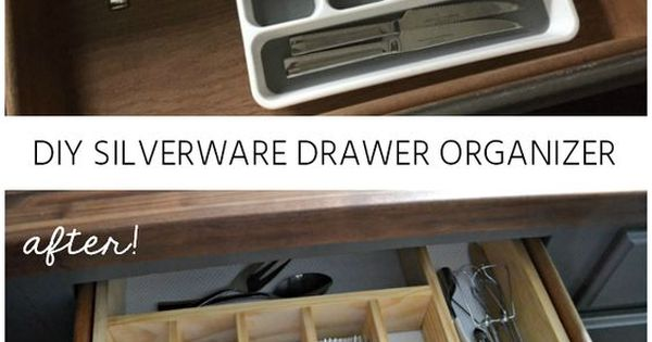 Silverware Drawer Organizer Diy 10 To Organized Diy