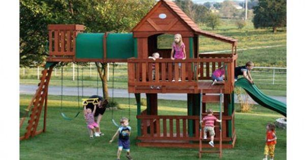Win a Backyard Discovery Woodridge PlaysetPlaysetsPinterest