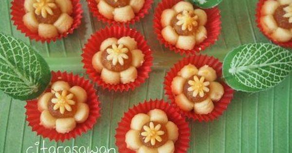 Resepi Biskut Tart Nenas Bunga Step By Step Resipi Citarasawan Kue Kering Mentega Kue Nutella Kue Mangkuk
