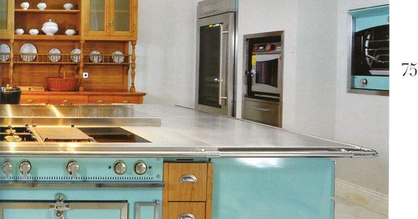 la cornue 39 s chateau grand palais 180 in aquamarine www. Black Bedroom Furniture Sets. Home Design Ideas