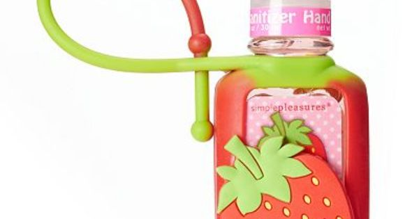 Simple Pleasures Strawberry Antibacterial Hand Sanitizer Hand