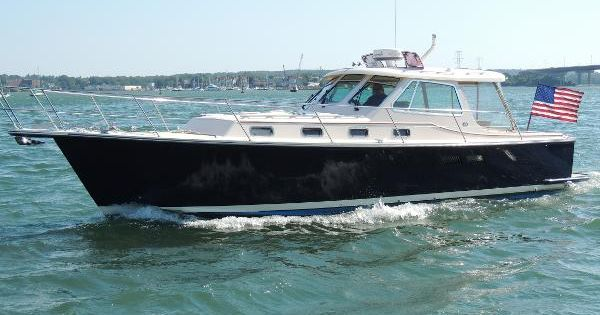 2002 Island Packet Packet Craft Portland Maine Boats Com Boat Downeast Cruiser Classic Boats