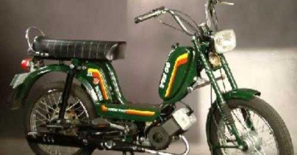The Shiny Luna Moped Bike Scooter