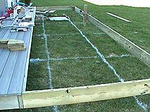 How To Extend An Existing Deck Expand An Old Deck Make A Deck Bigger By Adding More Posts And Joists Deck Framing Deck Railing Diy Deck