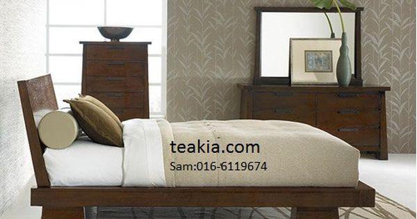 Japanese Bed Frame Teak Wood Furniture Malaysia Indoor Furniture