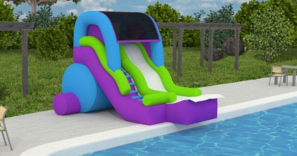 Pin By Magic Jump Rentals Inc On Water Slides Games Water Slide Rentals Pool Water Slides