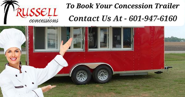 how to build a mobile concession stand