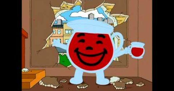 Family Guy Quot Oh Yeah Quot Kool Aid Man Parody Youtube Kool Aid Man Kool Aid Family Guy