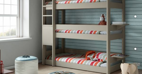 lit superpos trois places chambres d 39 enfants kids rooms pinterest lit superpos. Black Bedroom Furniture Sets. Home Design Ideas