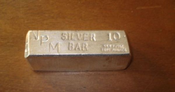 The Games Factory 2 Silver Bars Coin Jewelry Silver