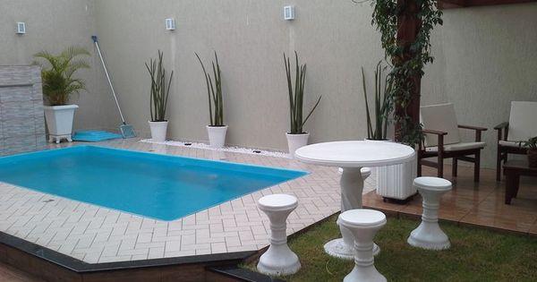 Projeto e reforma de rea de lazer pequena com piscina for Piscinas pequenas