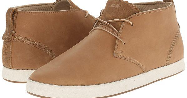 Olukai Manoa Leather - Hombres Clay / Toffee 9.5 EOocfHVcXv