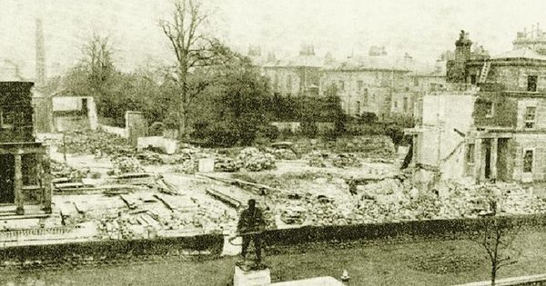 Calverley terrace demolished to make way for the new civic for 10180 old well terrace