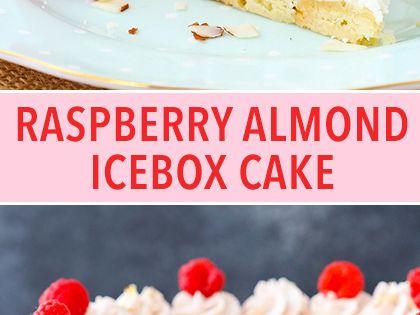 Icebox cake, Cake layers and Raspberries on Pinterest