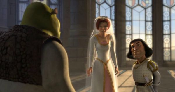 Movie Review Shrek 2001 A Journey Into The World Of Reviews The Paranormal Stupidity And More The Rellim Famous Wedding Dresses Shrek Wedding Shrek