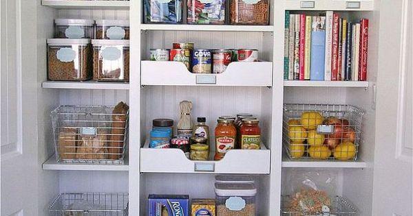 Pantry remodel organization hometalk organization for Placard garde manger cuisine