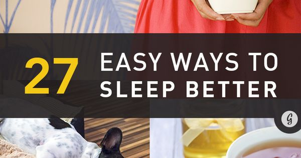 27 easy ways to sleep better tonight healthy living bodies and sleep help. Black Bedroom Furniture Sets. Home Design Ideas