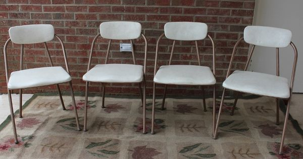 Hamilton Cosco Stylaire Folding Chairs Vintage 100 00