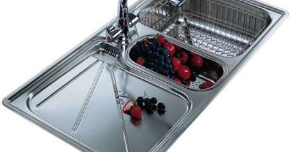 Kitchen Sinks For Less franke arianne arx 654 1.5 bowl stainless steel kitchen sink
