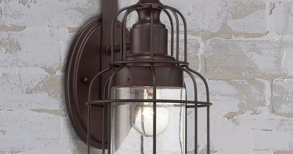Industrial Oceanside Wall Sconce Large Farmhouse Style