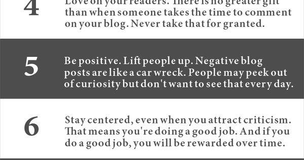 This is soooo helpful, a great list of blogging tips. Good for