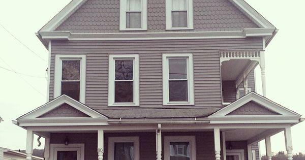 Siding After Certainteed Mainstreet Granite Gray