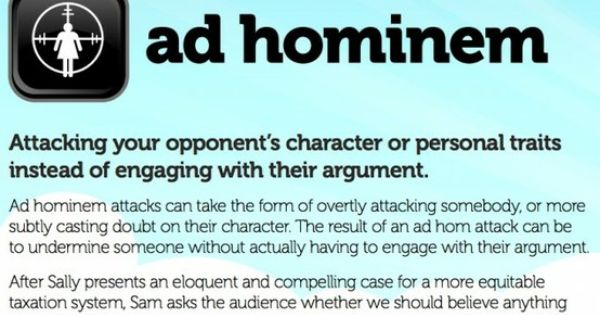 Quotes On Attacking Someone S Character