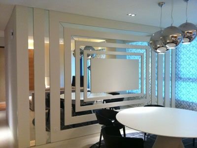 Decorative Design Making This Mirror A Piece Of Art Mirror Wall