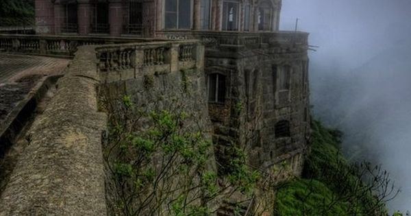 The Hotel del Salto, Tequendama Falls, Bogotá River, Colombia This looks like