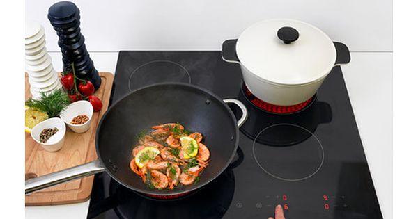 Barmh rtig table de cuisson vitroc ramique noir for Ikea table de cuisson