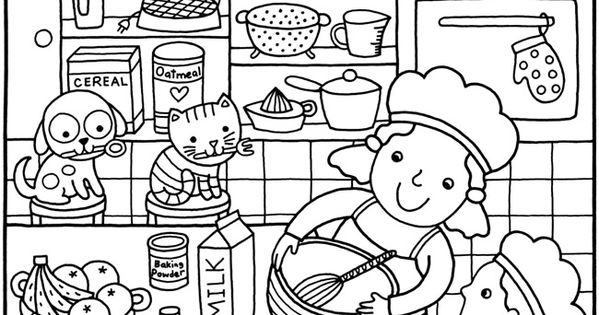 sample coloring pages for kids - photo#14