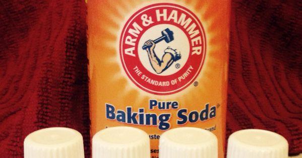 A Few Drops Of Each Essential Oil In A Bottle Of Baking