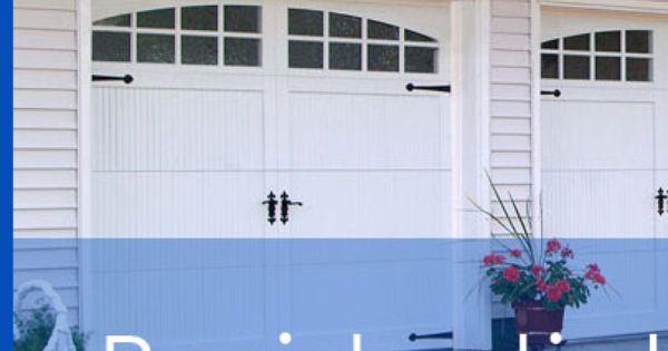 Company Photo Carriage Style Garage Doors Vinyl Garage Doors Commercial Garage Doors