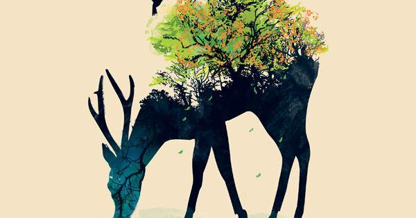 threadless Illustrations from graphic designer Budi Satria Kwan.