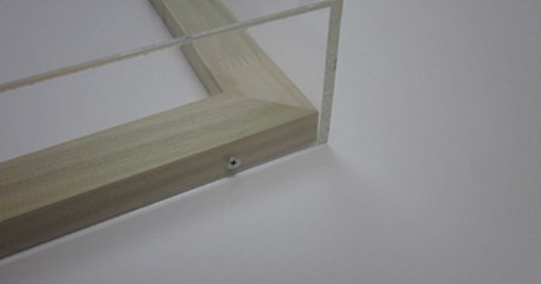 smallcorp acrylic box frames are custom made to order