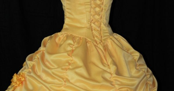 Beauty and the Beast Belle Parade Gown Custom by ...
