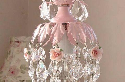 Meisjes kroonluchters voor slaapkamer foto 4 behang meisjeskamer goud pinterest - Deco slaapkamer meisje roze ...